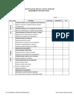 Formato Check List Sub Estacion
