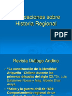 Publicaciones Sobre Historia Regional