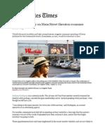 Los Angeles Times, August 9, 2011, DHR International