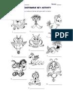 Dichotomous Key Activity Monsters