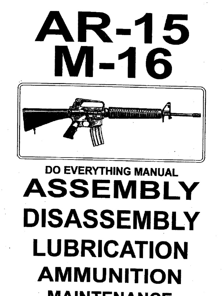 Lowe Receivr Ar15 And M16 Manual Guide