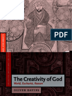 (Cambridge Studies in Christian Doctrine)Oliver Davies-The Creativity of God World, Eucharist Reason -Cambridge University Press(2004)