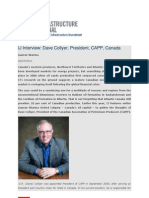 Infrastructure Journal interview