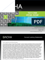 Dacha Strategiv Metals Aug 2011 Presentation