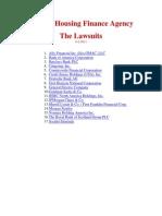 FHFA Lawsuits (1 File)