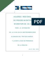 Acuerdo Regional CA4
