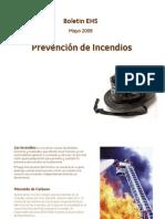 BoletinEHS_Mayo2009_Incendios