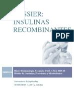 insulinas recomb CENTENERA, cristina MÁSTER BIOTEC 09-10