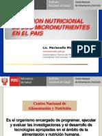 3. La Situacion de Los Micronutrientes en El Peru