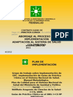 Abordaje Implementación 062011
