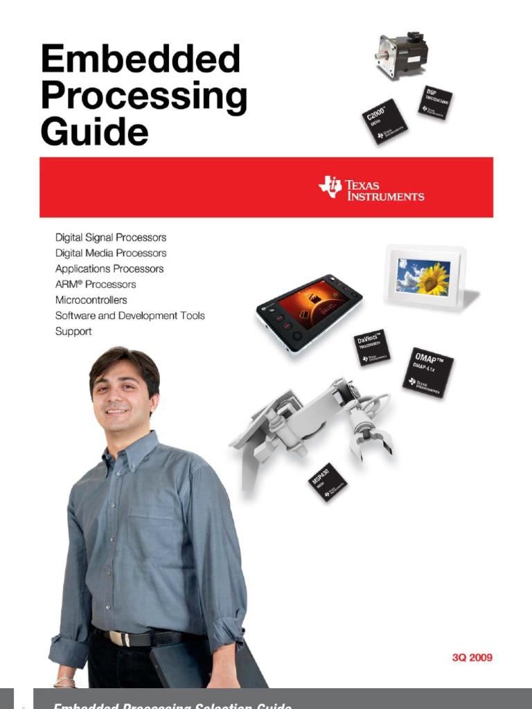 TI Embedded Processing Guide | Digital Signal Processor