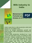 1. Milk Industry in India
