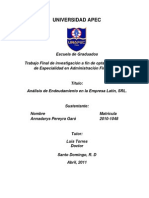 Proyecto Analisis Endeudamiento Latin