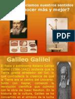 Trabajo de Ciencias, Galileo