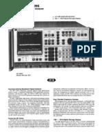 HP 3585A Datasheet