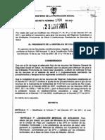 Decreto 1700 de 2011 - Mecanismo Para Giro Directo de Recursos EPS-S e IPS