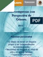 MICROEMPRESAS CON PERSPECTIVA DE GENERO