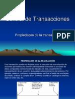 Control de Transacciones