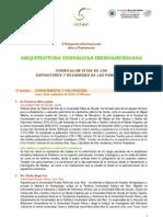 II SIMPOSIO INTERNACIONAL | ARTE Y ARQUITECTURA, ARQUITECTURA VERNÁCULA IBEROAMERICANA - Resumenes Ponencias
