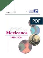 Catalogo de Invent Ores Mexicanos 1980-2000-1