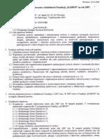 Sprawozdanie Merytoryczne Za Rok 2007