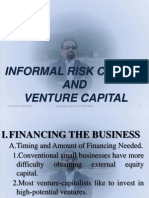 Informal Risk Capital