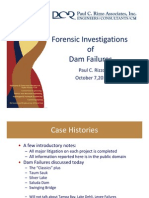 Forensic Engineering for Dam Failures