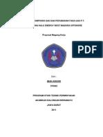 Proposal Magang Kerja PHE WMO