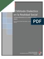 Ensayo El Metodo Dialectico en La Realidad Social