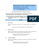 APA Referencing Guideline ILC