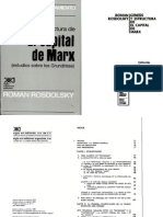 ROSDOLSKY, ROMAN – Génesis y Estructura de «El Capital» de Marx (Estudios Sobre los Grundrisse)