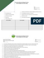 Practical Nursing List of Activities