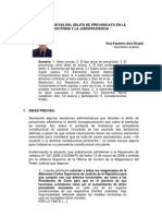 14 El Delito de Prevaricato en La Doctrina y La Jurisprudencia Paul Faustino Alva Ricaldi%5B1%5D