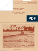 Soil Erosion by Water in the Tropics. S. A. EI-Swaify, E. W. Dangler, and C. L. Armstrong