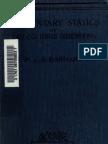 Elementary Statics of 2 & Dimensions R.J.a. Barnard 1921