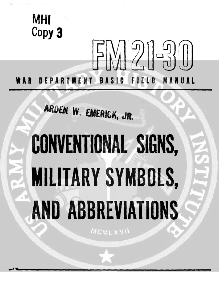 Conventional signs military symbols abbreviations fm 21 30 1943 conventional signs military symbols abbreviations fm 21 30 1943 shoal map biocorpaavc Image collections