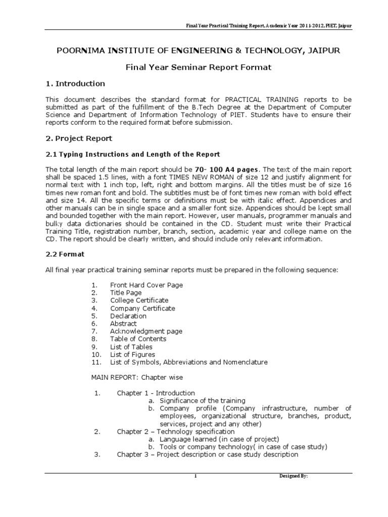 Practical training seminar report format mainframe computer practical training seminar report format mainframe computer abstract summary yelopaper Gallery