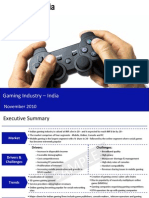 Gaming Industry in India 2010-Sample