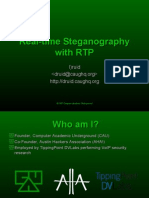 Real Time Steganography With RTP