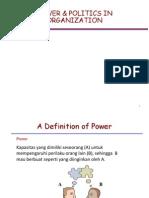 Power & Politics in Organization