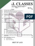 English Paper 26-6-11