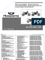 Husqvarna TE TC SM 2004 250-400-450 Parts