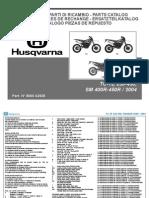 Husqvarna TE TC SM 2004 250-400-450 Parts