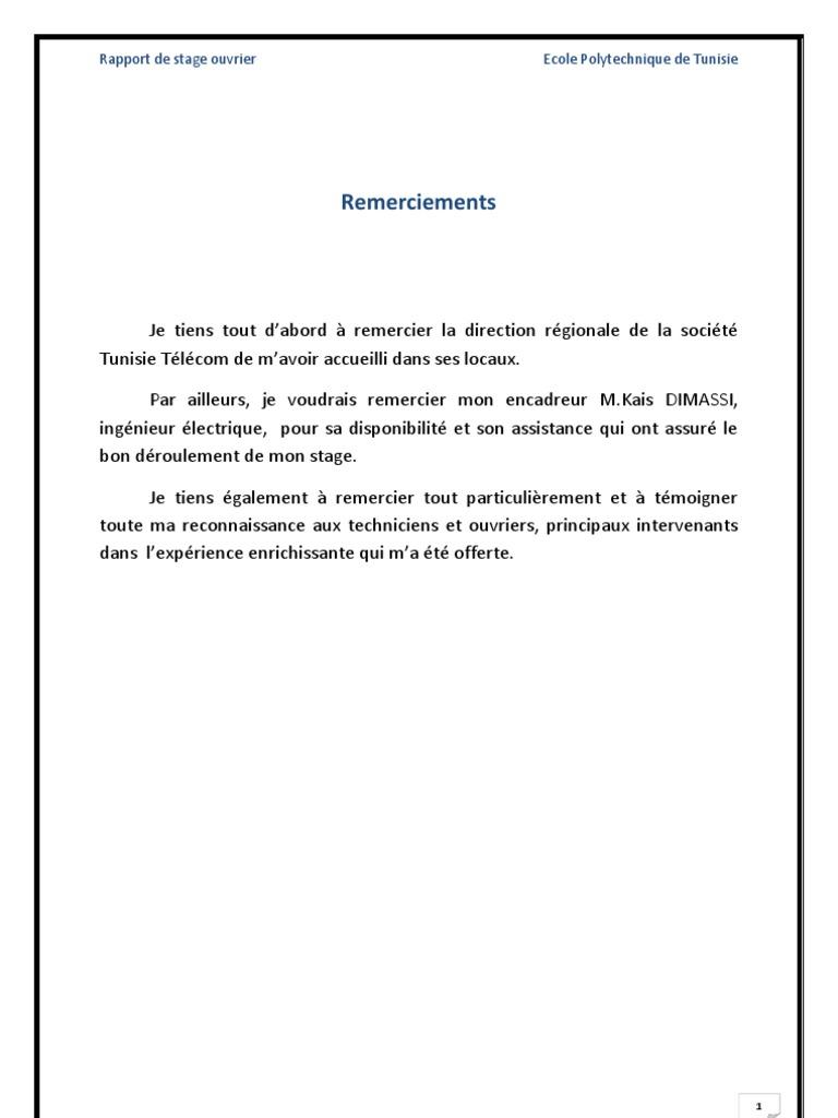 Rapport de stage 3eme introduction - Rapport de stage cabinet d avocat exemple ...
