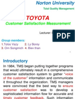TQM Toyota CSM