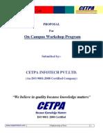 CETPA Workshop Proposal