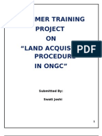 Land Acquisition in Ongc