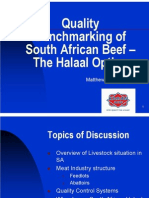 Halaal Beef in South Africa