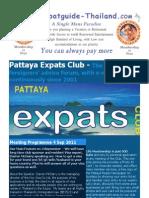 Pattaya Expats Club 4th September 2011