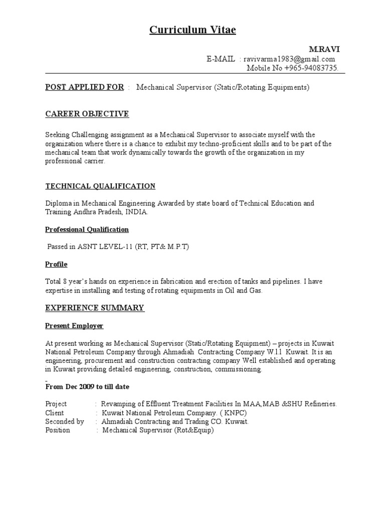 Awesome Mechanical Piping Engineer Resume Pictures Simple Resume